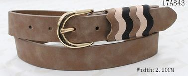 Reasonable Womens Fashion Belts , Ladies Designer Belts With PU Loops In 2.90cm